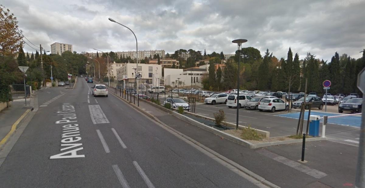 Parking extérieur - Aix-en-Provence